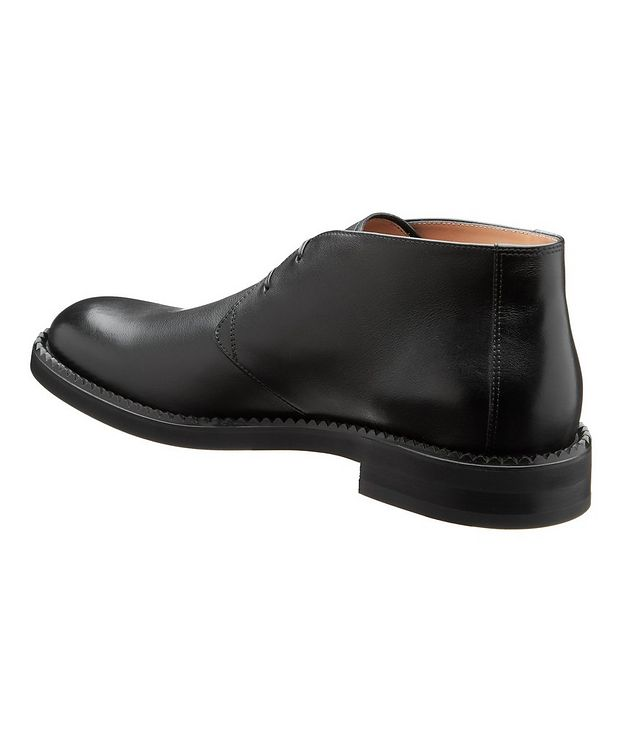 Narrow Leather Chukka Boots picture 2
