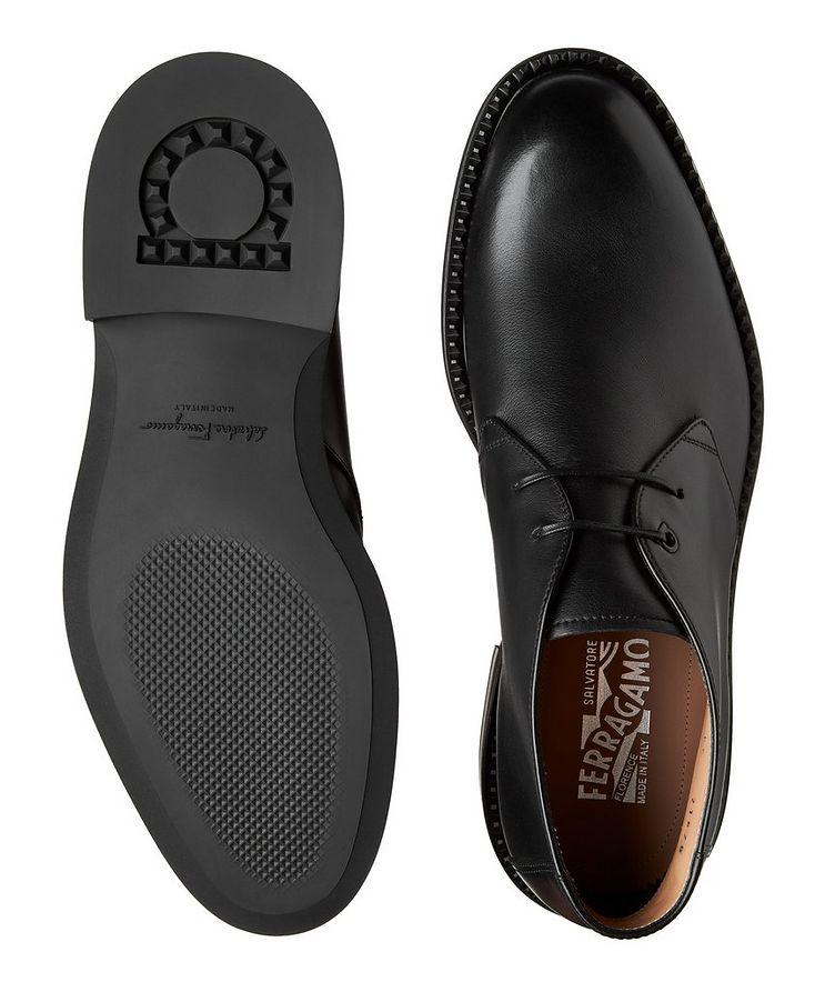 Narrow Leather Chukka Boots image 2