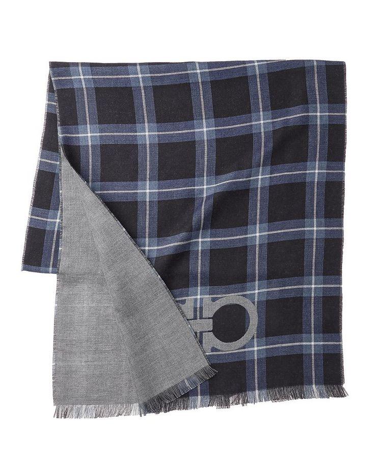 Gancio Logo Cotton, Cashmere & Silk Scarf image 1