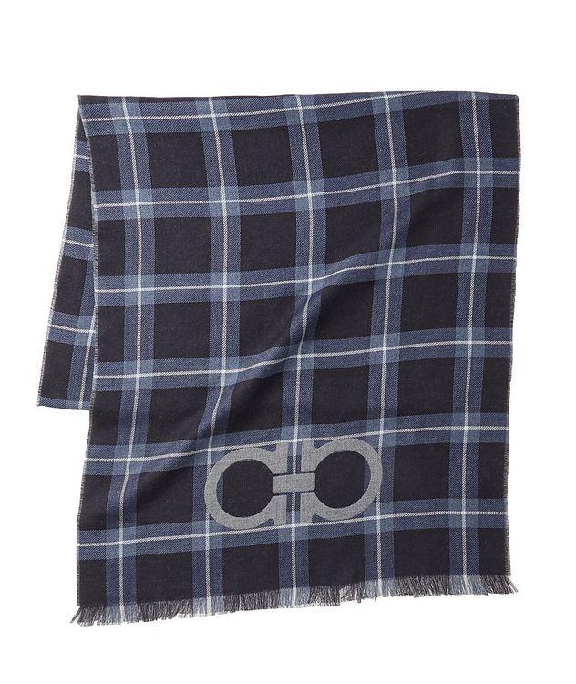 Gancio Logo Cotton, Cashmere & Silk Scarf picture 1