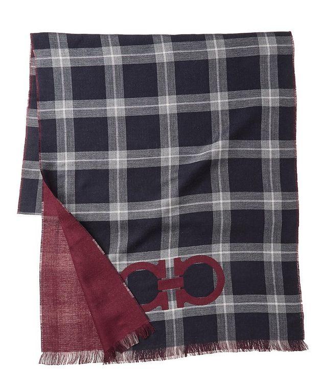 Gancio Logo Cotton, Cashmere & Silk Scarf picture 2