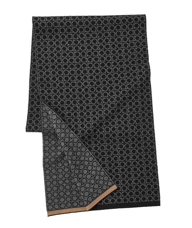Gancio Logo Wool Scarf picture 1