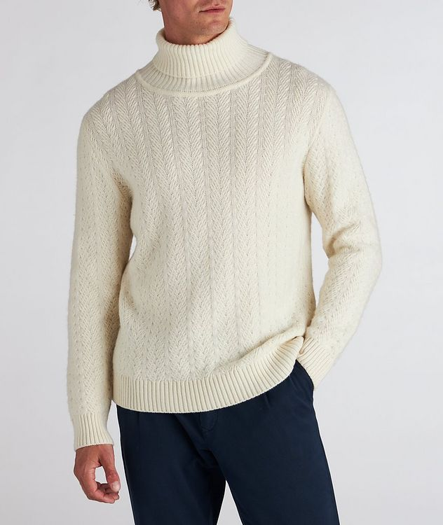 Cable Knit Cashmere Sweater picture 2