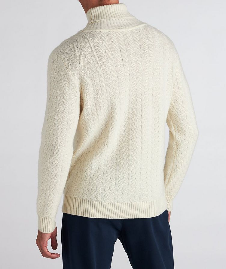 Cable Knit Cashmere Sweater image 2