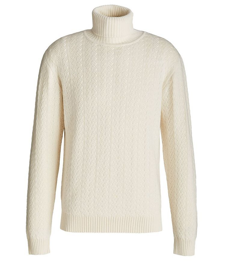 Cable Knit Cashmere Sweater image 0