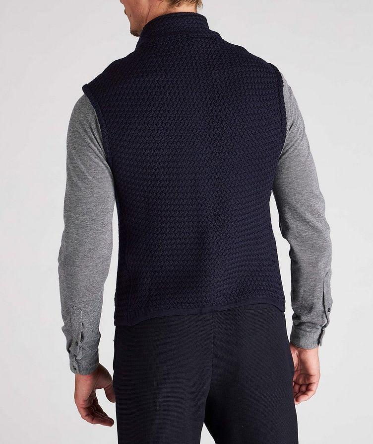 Bubble Knit Wool Vest image 2