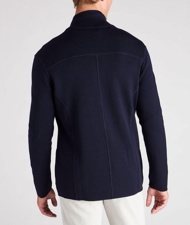 Reversible Knit Wool Cardigan image 6