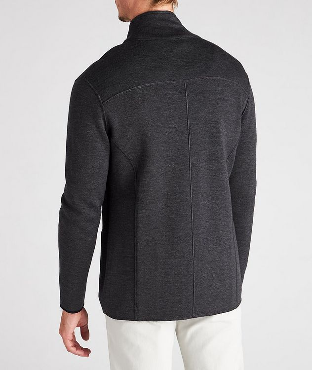 Reversible Knit Wool Cardigan picture 10
