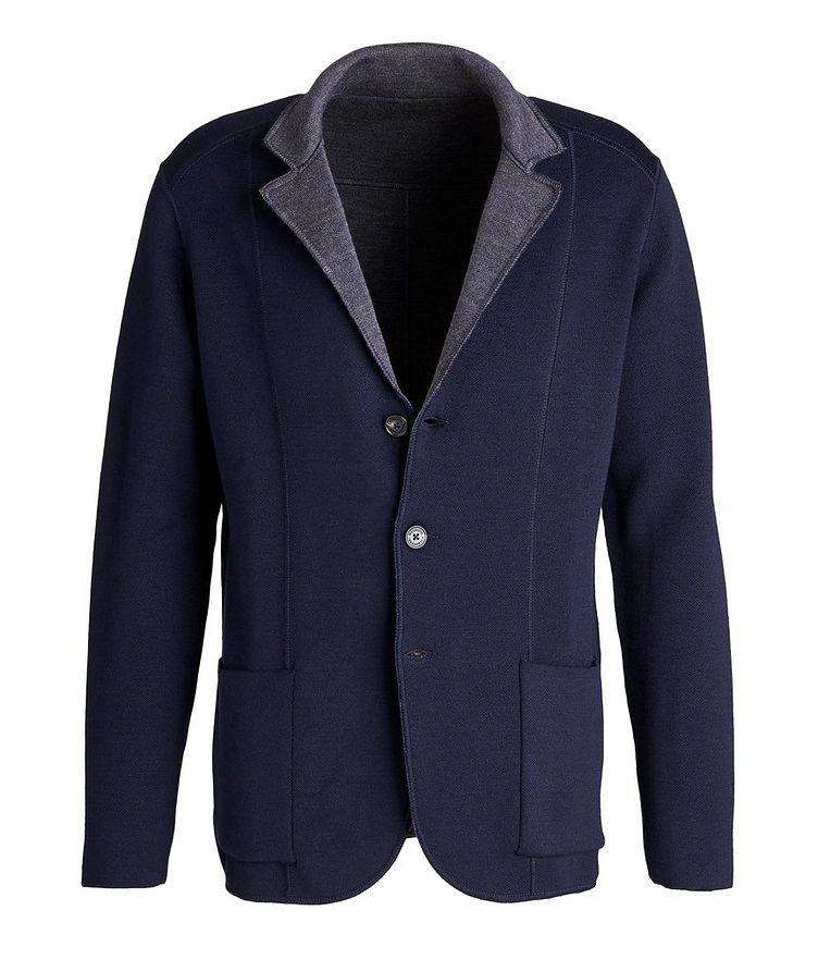 Reversible Knit Wool Cardigan image 0