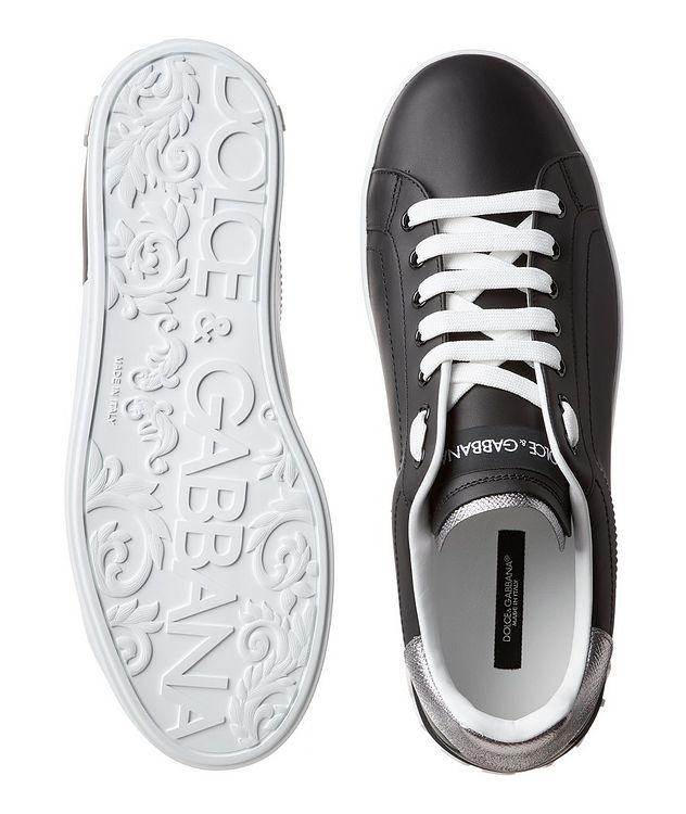 Chaussure sport en cuir, collection Portofino picture 3
