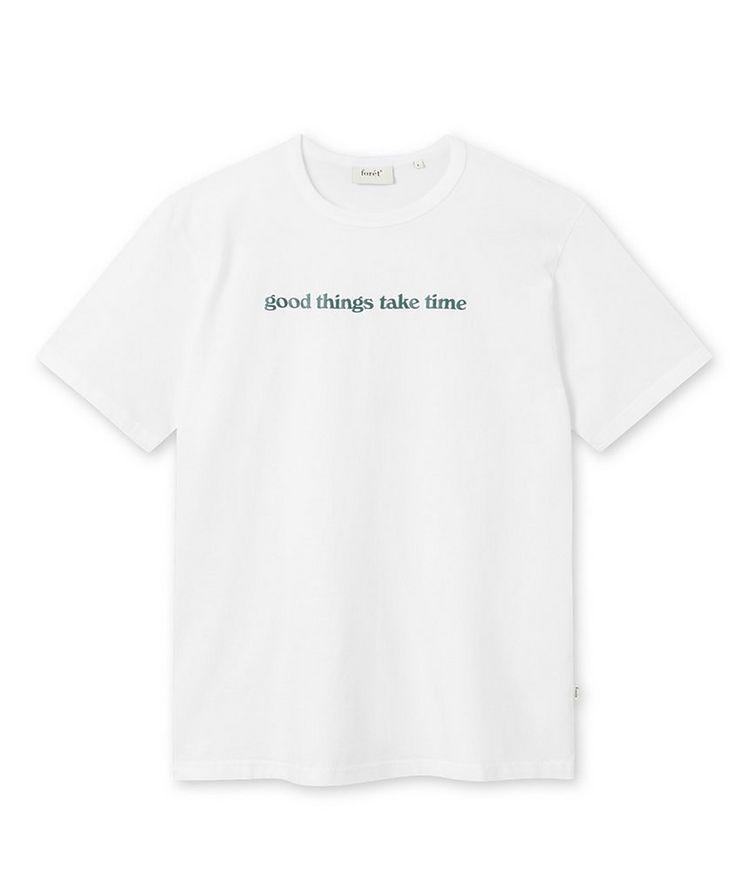 Time Cotton T-Shirt image 0