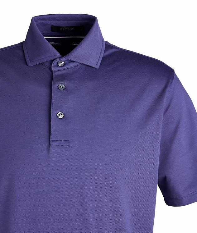 Omaha Quick Dry Stretch-Cotton Polo picture 2