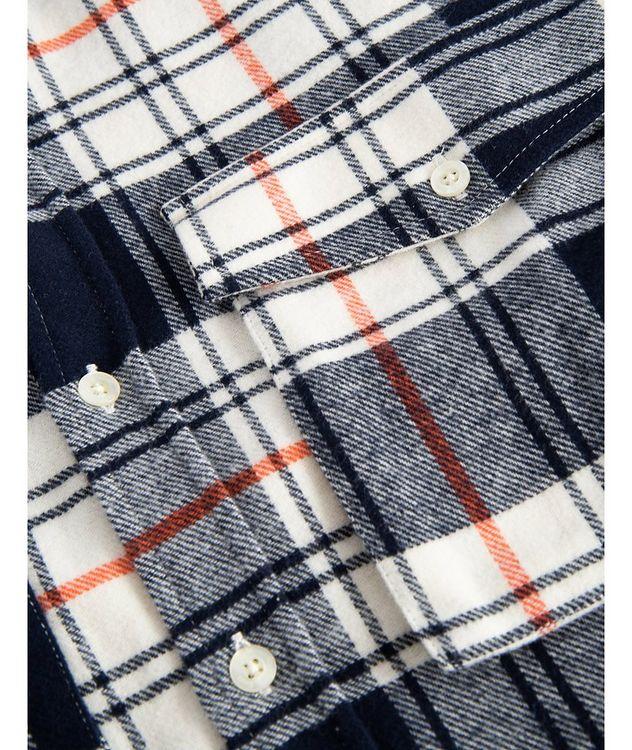 Alaska Plaid Cotton Shirt picture 3
