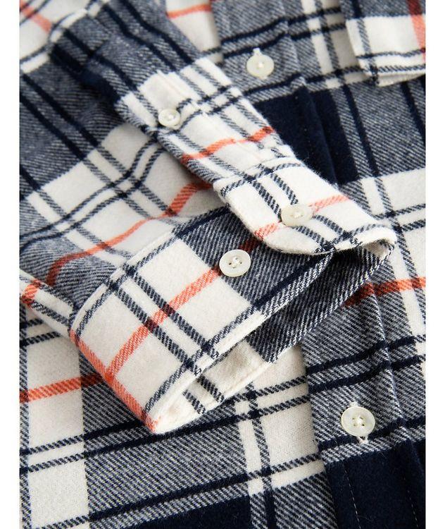 Alaska Plaid Cotton Shirt picture 4