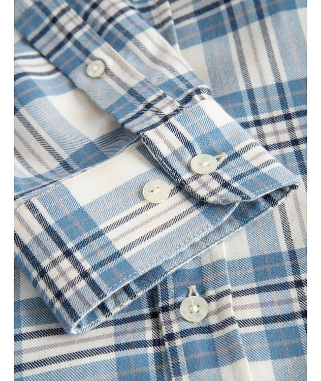 Wild Checked Cotton Sport Shirt picture 4
