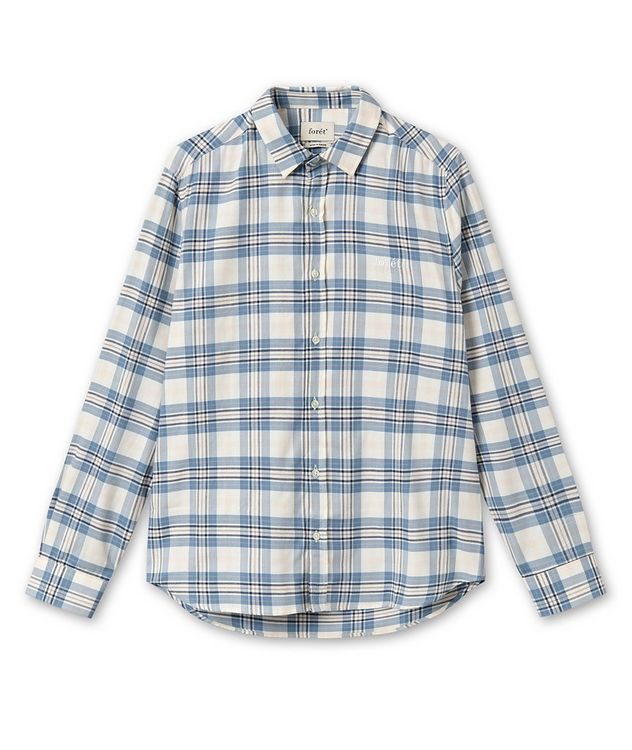Wild Checked Cotton Sport Shirt picture 1