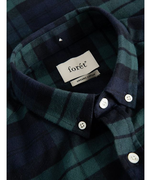 Hornet Checked Cotton Sport Shirt picture 2
