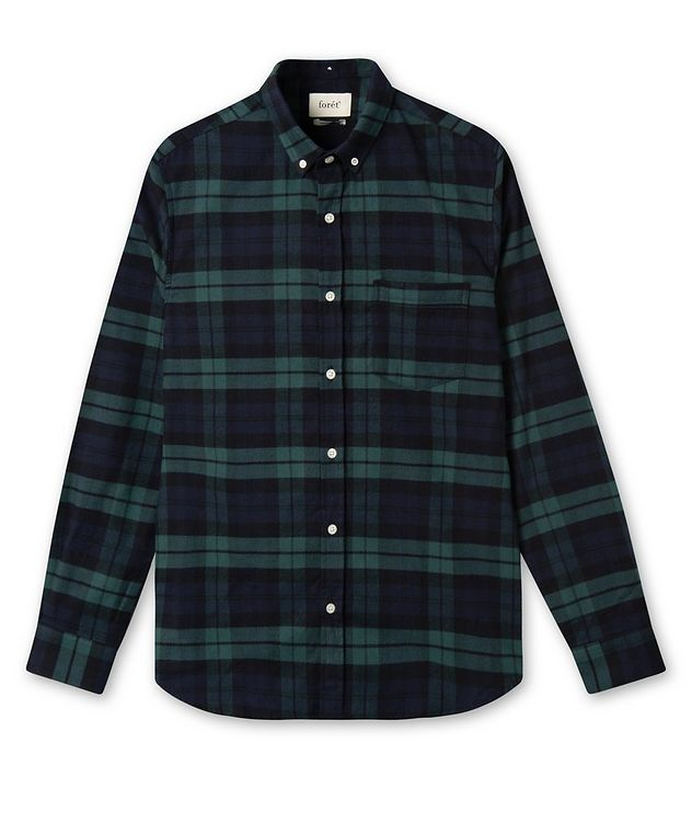 Hornet Checked Cotton Sport Shirt picture 1