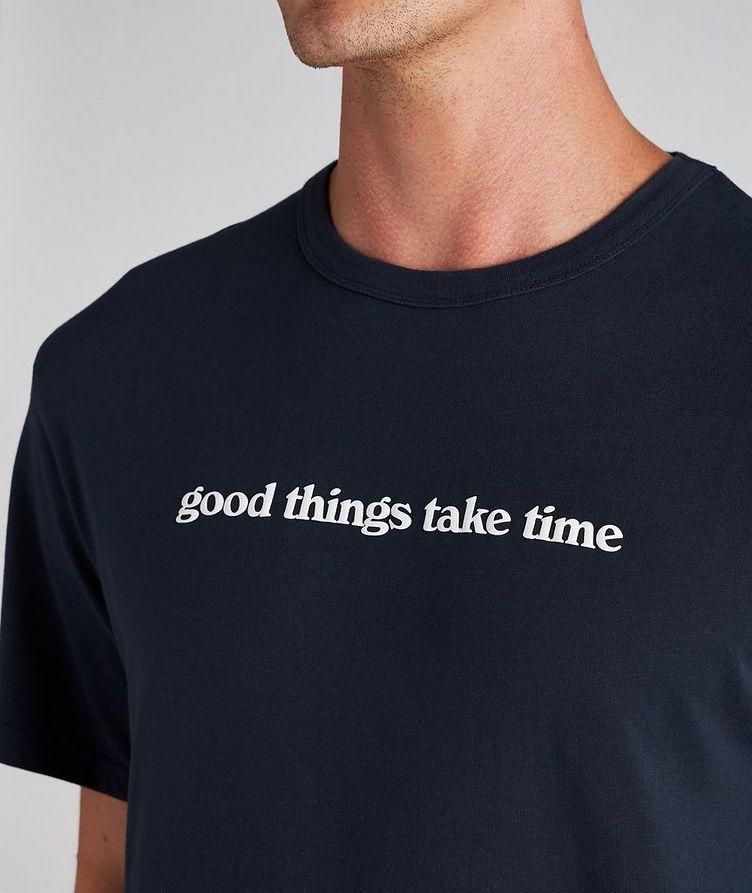 Time Cotton T-Shirt image 2