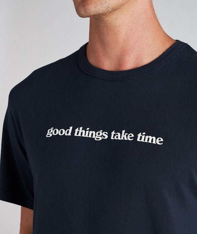 Time Cotton T-Shirt picture 3