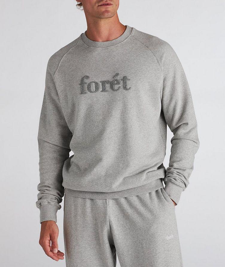 Flock Cotton Crew Neck Sweatshirt image 1