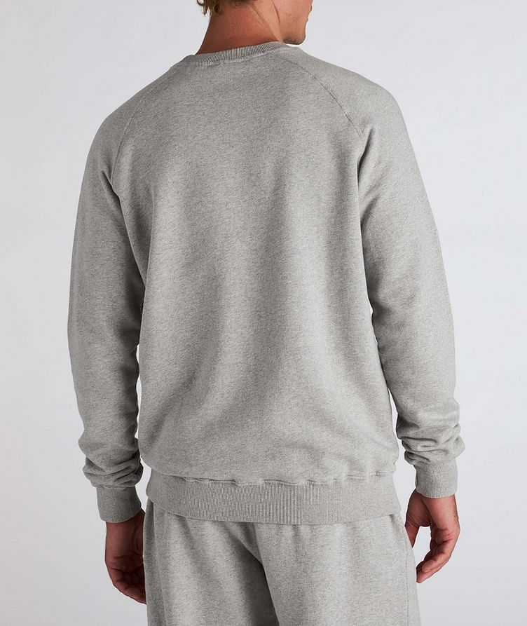 Flock Cotton Crew Neck Sweatshirt image 2