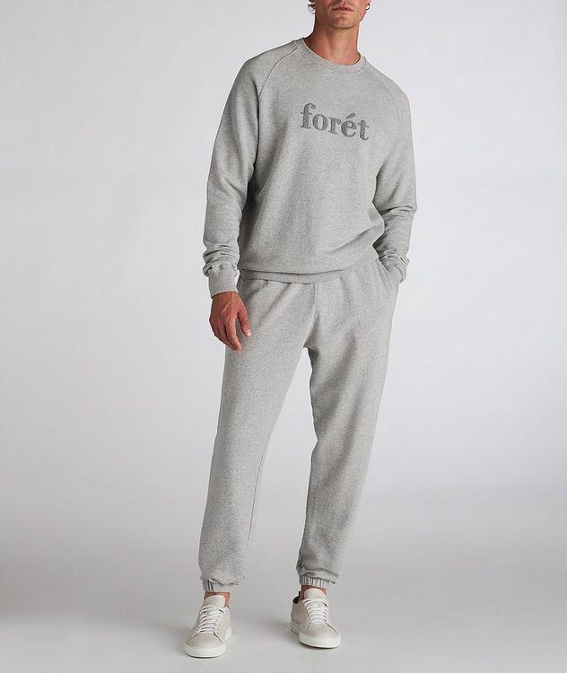 Flock Cotton Crew Neck Sweatshirt picture 5