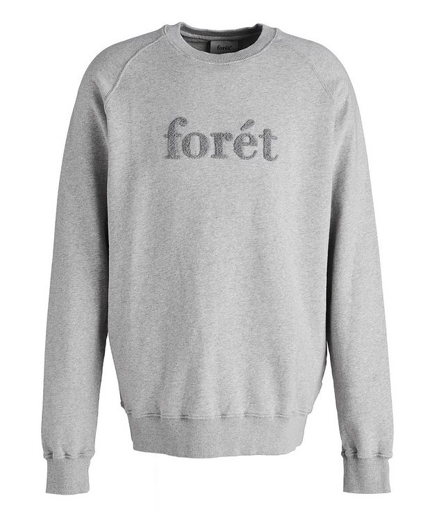 Flock Cotton Crew Neck Sweatshirt picture 1