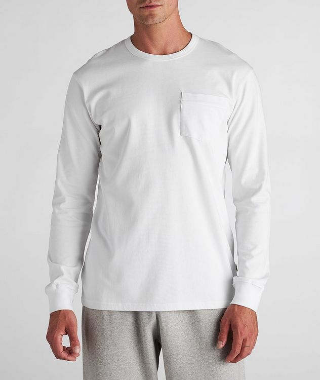 South Long-Sleeve Cotton T-Shirt picture 2