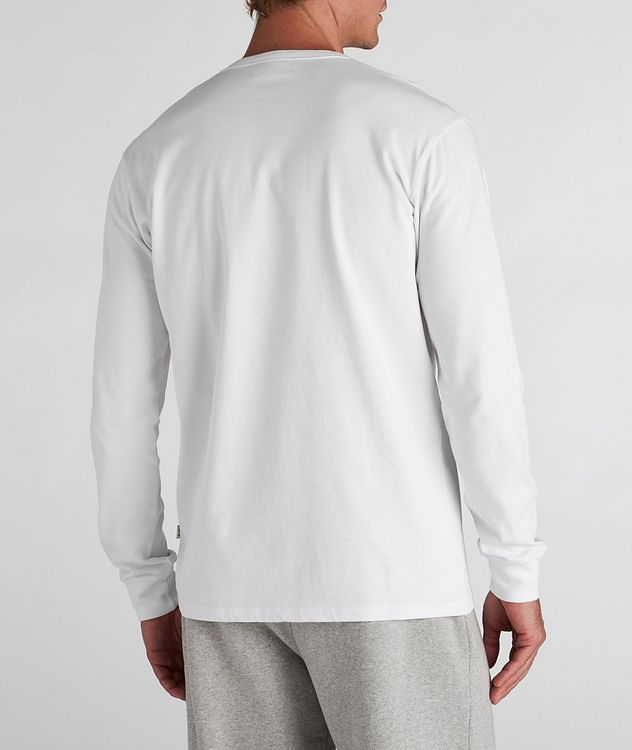 South Long-Sleeve Cotton T-Shirt picture 3
