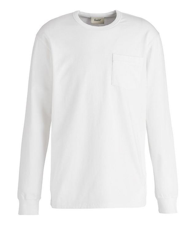 South Long-Sleeve Cotton T-Shirt picture 1