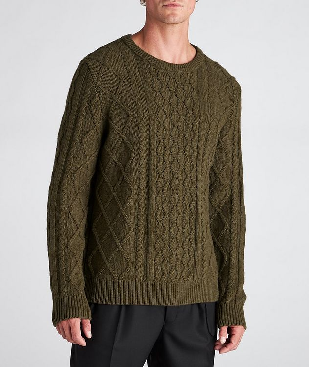 Grow Cable-Knit Wool-Blend Sweater picture 2