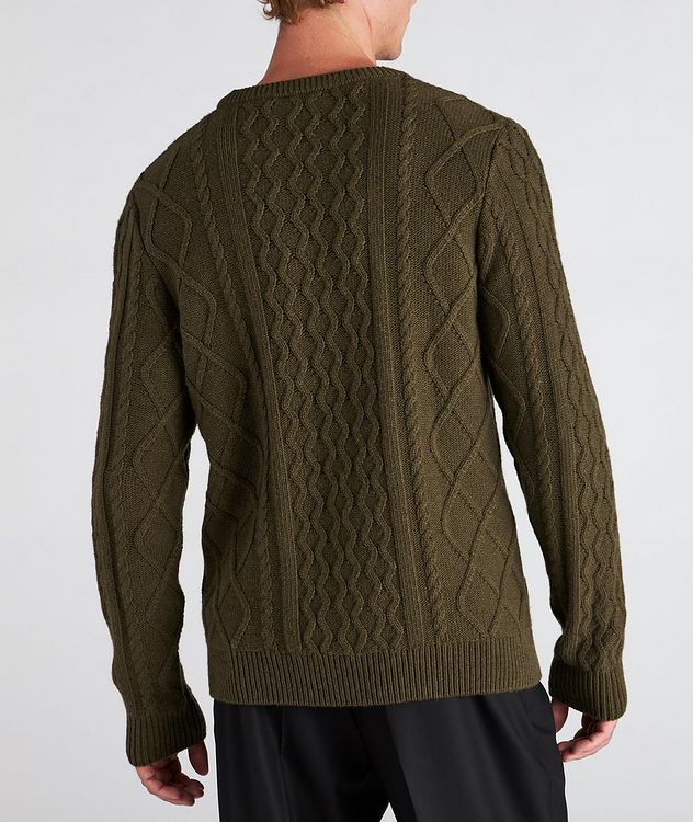 Grow Cable-Knit Wool-Blend Sweater picture 3