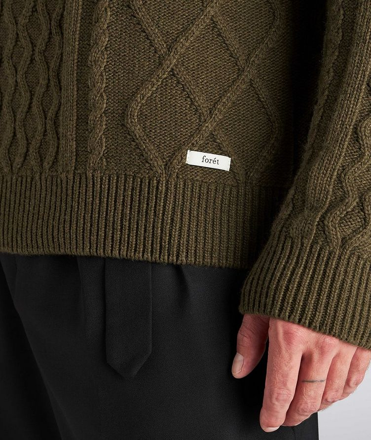 Grow Cable-Knit Wool-Blend Sweater image 3