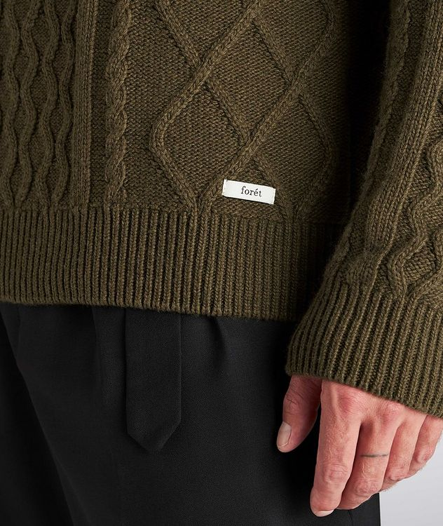 Grow Cable-Knit Wool-Blend Sweater picture 4