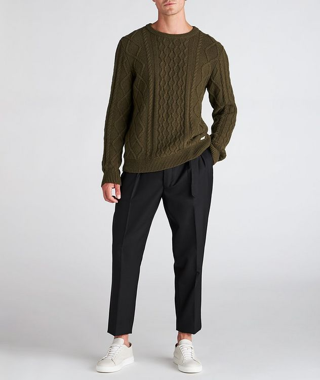 Grow Cable-Knit Wool-Blend Sweater picture 5