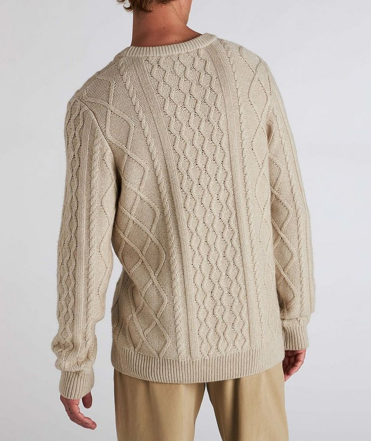 Grow Cable-Knit Wool-Blend Sweater image 2