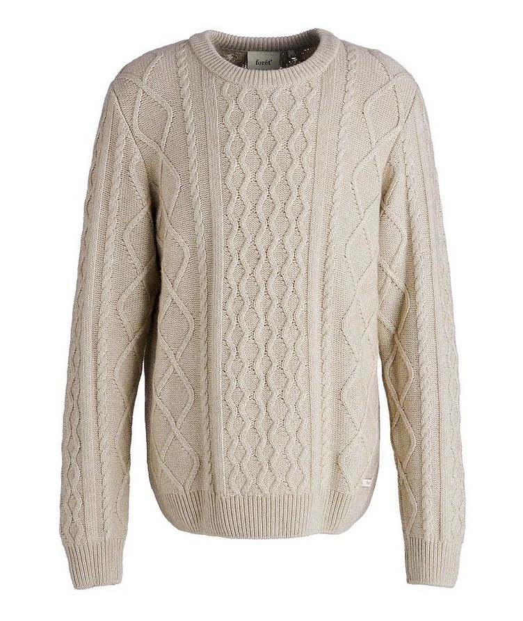 Grow Cable-Knit Wool-Blend Sweater image 0