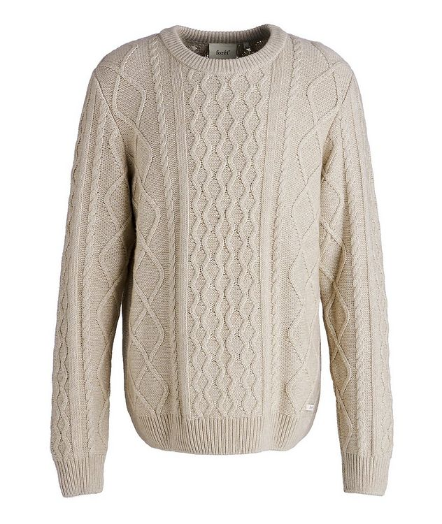 Grow Cable-Knit Wool-Blend Sweater picture 1