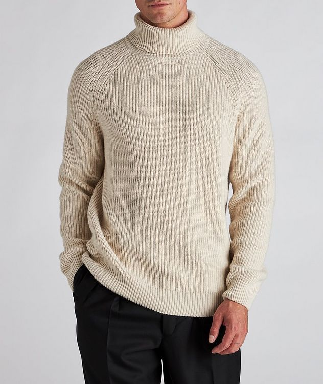 Huckle Wool-Blend Turtleneck picture 2