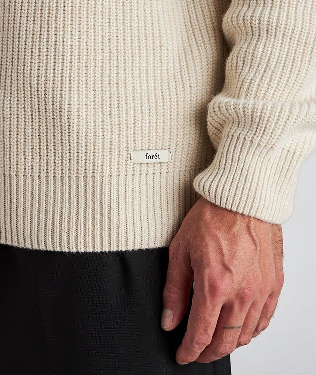 Huckle Wool-Blend Turtleneck picture 4