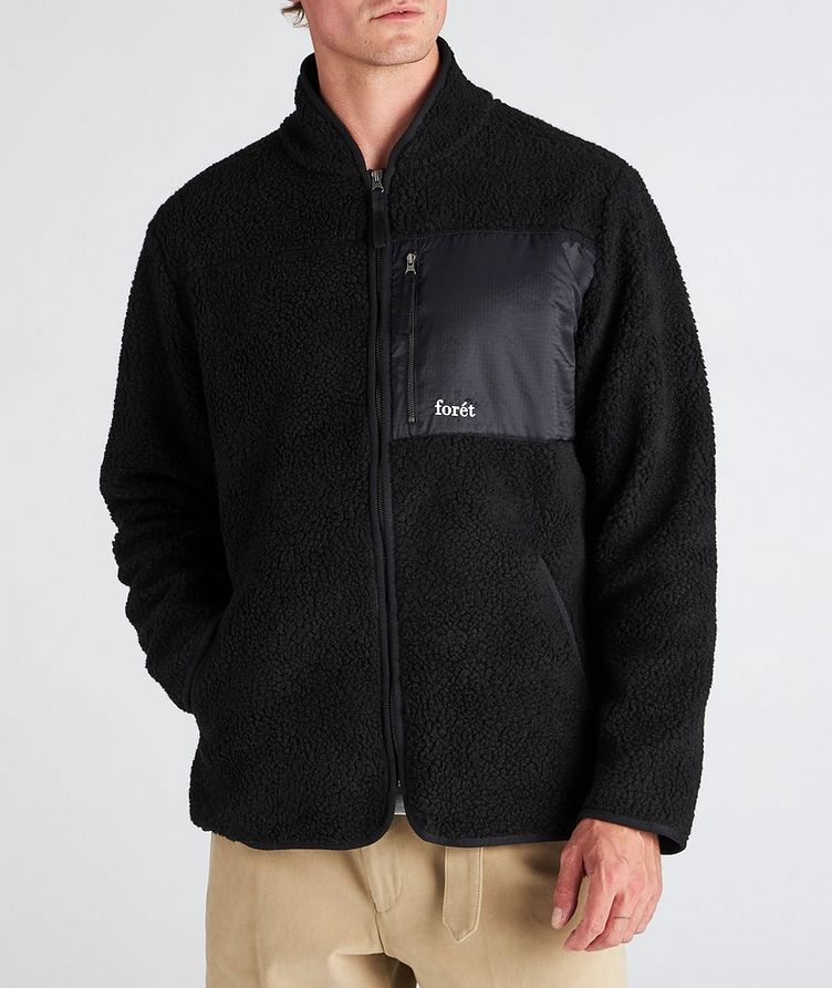 Wolf Fleece Zip-Up Jacket image 1