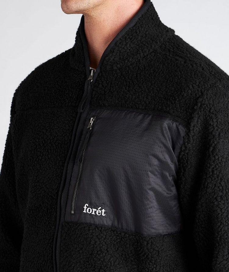Wolf Fleece Zip-Up Jacket image 3