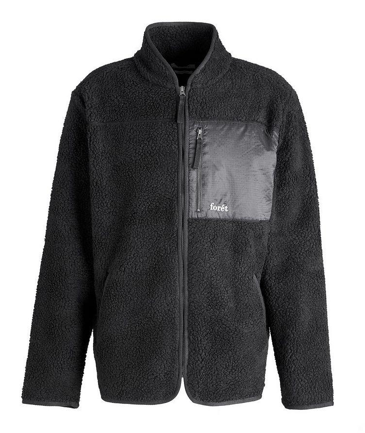 Wolf Fleece Zip-Up Jacket image 0