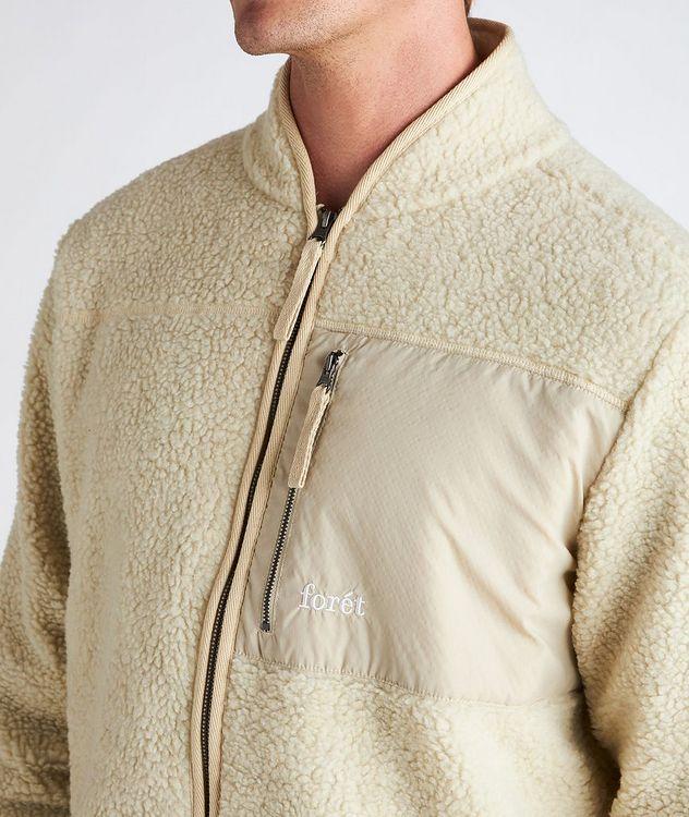 Wolf Fleece Zip-Up Jacket picture 4
