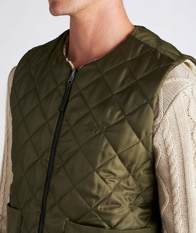 Reflect Reversible Quilted Vest picture 4