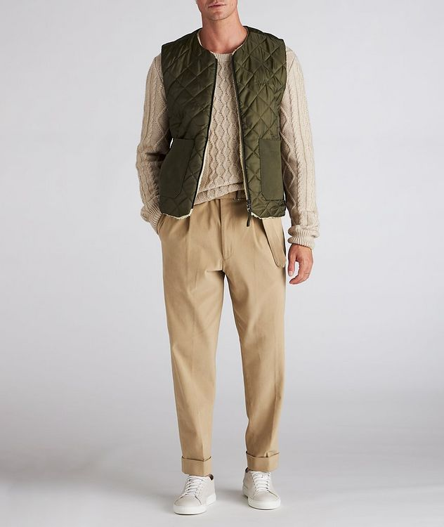 Reflect Reversible Quilted Vest picture 5