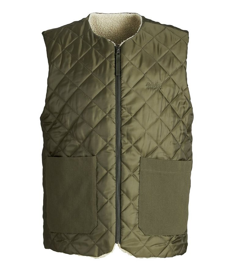Reflect Reversible Quilted Vest image 0
