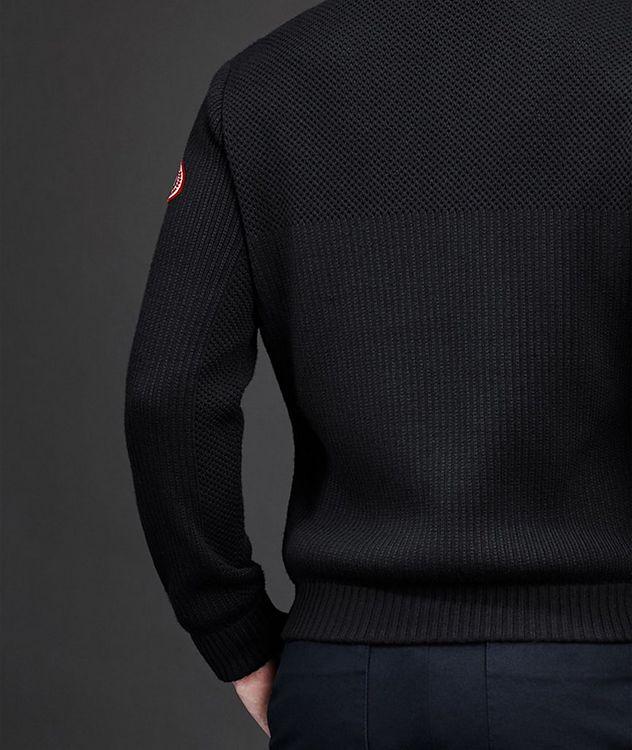 HyBridge Zip-Up Knit Sweater picture 4