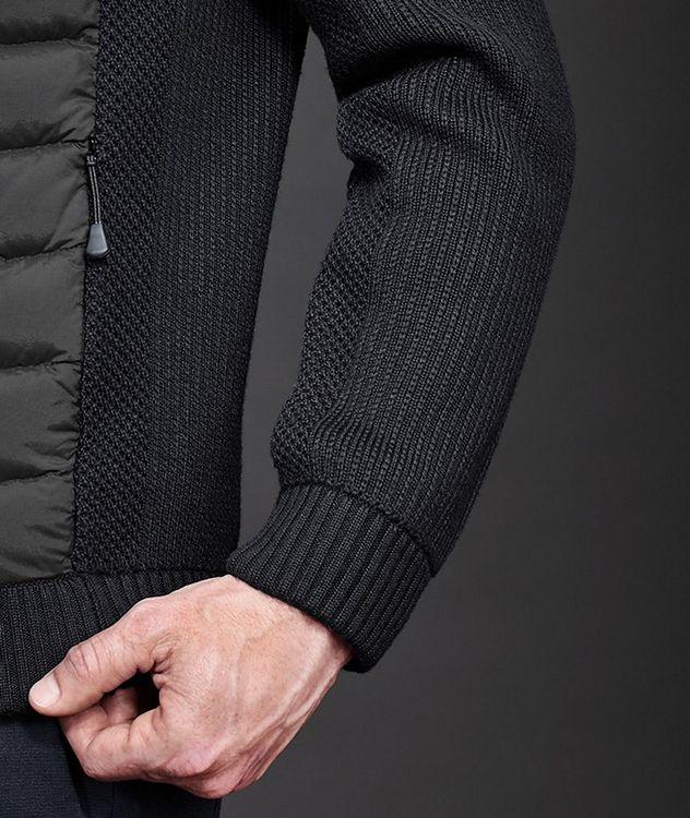 HyBridge Zip-Up Knit Sweater picture 5